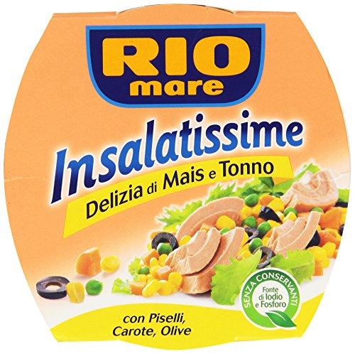 Rio Mare Insalatissime, Delizia di Mais e Tonno - 160 gr