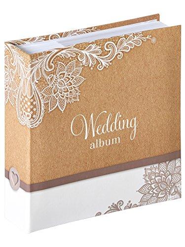 walther design ME-147 Memo-Hochzeit Elemental, 100 für 13x18, Braun
