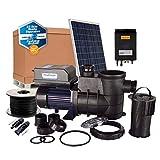 PlusEnergy Kit Depuradora de Piscina Solar 750W - 1cv con Paneles Solares