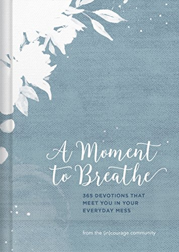 A Moment to Breathe: 365 Devotions That Meet You in Your Everyday Mess (English Edition)