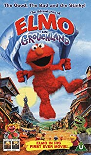 The Adventures of Elmo in Grouchland [VHS]