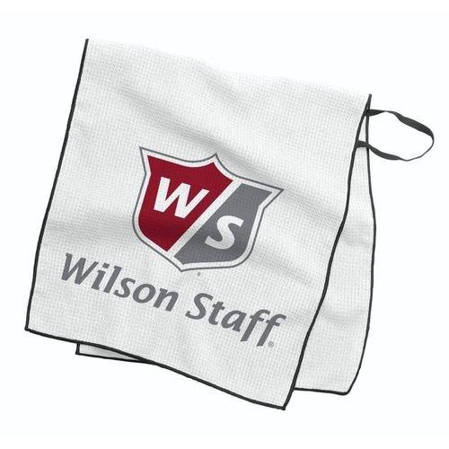 Wilson W/S Caddie Tour Towel Golfhandtücher, Unisex, Erwachsene, Weiß, Einheitsgröße