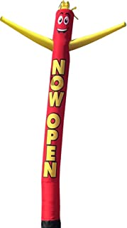 Now Open 20 Foot Tall Inflatable Tube Man Air Powered Dancing Puppet Guy for Outdoor Advertising, Replacement Dancer Only