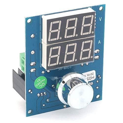 ARCELI Regulador de Voltaje Digital XH-M403 DC-DC Buck Step Down Módulo de Fuente de alimentación 5-36V a 1.3-32V Protección contra Temperatura excesiva