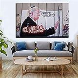 HUA JIE Wohnzimmer Wanddekoration Donald Trump Präsidenten