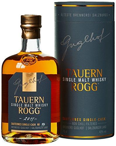 Guglhof Tauern Rogg Single Malt Whisky mit Geschenkverpackung (1 x 0.7 l)