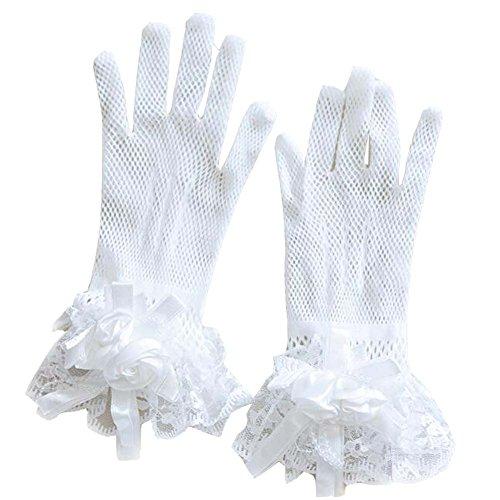Gants de dentelle de mariée pour les épouses de mariage Accessoire # 2