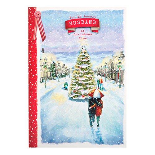 Hallmark Christmas Card To Husband 'Love Always' - Medium