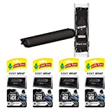 LITTLETREESCar Air Freshener | Vent Wrap Provides a Long-Lasting Scent, Slip on Vent Blade | Black Ice, 4-Packs (4 Count)
