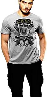 British SAS T-Shirt UK Spec Ops Who Dares Wins VII By Warface Apparel