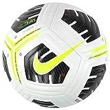 Nike Unisex-Adult NK ACDMY PRO - Team FIFA SZ 5 Recreational Soccer Ball, White/Black/(Volt), 5