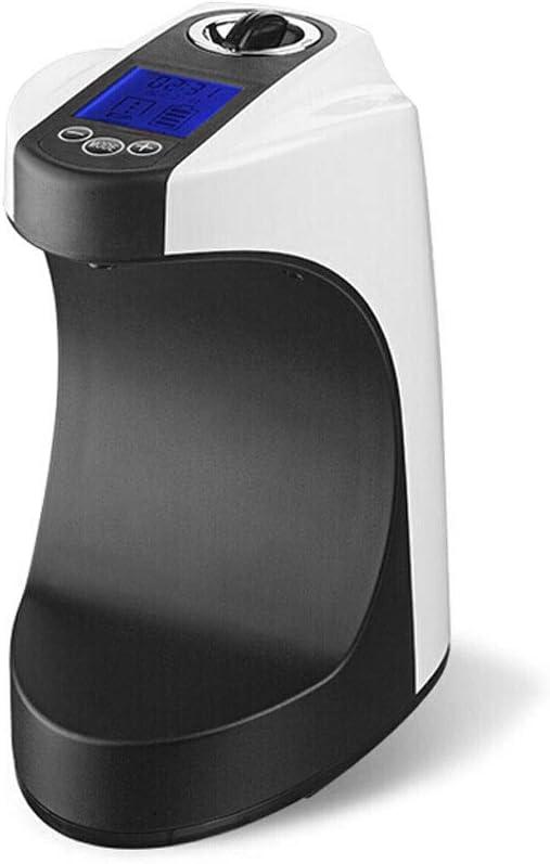 QTBH Dispensador de jabón Sensor Inteligente con Dispensador De Jabón Líquido LCD - Caja De Jabón De 750 Ml De Capacidad - Material ABS Liquid Soap Dispenser (Color : Black)