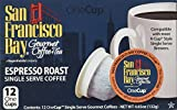 San Francisco Bay Coffee OneCup, Espresso Roast, 12 Count (Pack of 6)