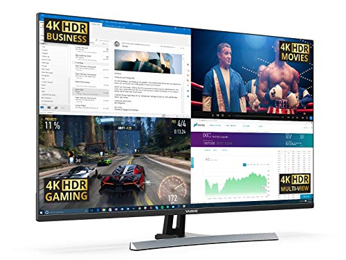 "Yashi Monitor Pioneer 40"", 4K, Super MVA, 1.07 Millones de Colores, HDR10, AMD Free-Sync, nVidia G-Sync Adaptive, 350cd/m2, 1ms, 1x DisplayPort, 1x HDMI 2.0, 1x USB Type C, Filtro LBL, Negro"