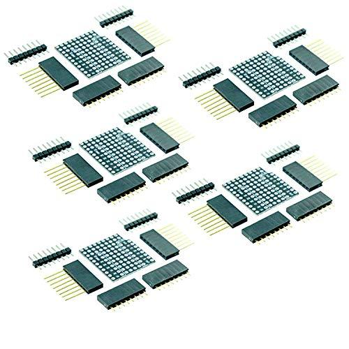 AZDelivery 5x Prototyping Shield para D1 Mini NodeMCU ESP8266 con E-Book incluido!