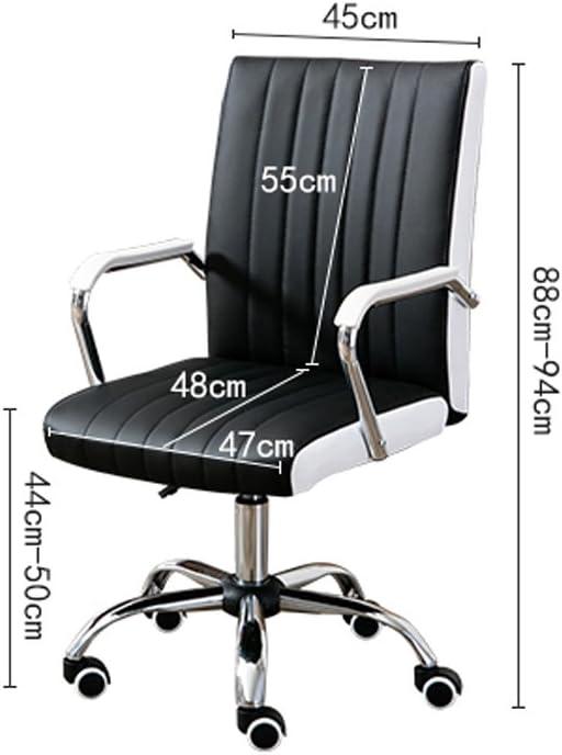 MGMDIAN Chaise de conférence Minimaliste Moderne, Chaise d'ordinateur à la Maison Chaise de Bureau Chaise pivotante Chaise d'ascenseur de Mahjong (Color : F) B