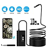 Inspection Camera, Wireless Endoscope 2.0 MP HD 5.5mm Snake Camera for Android, iOS