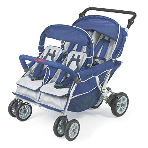 Buy Discount Children's Factory Surestop Folding Commercial Bye-Bye Stroller, 4 Passenger