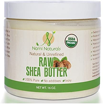 USDA Organic Shea Butter - Bonus E-book - Great Whipped, As Lotion, & Cream - Use On Stretch Marks, Fine Lines, Irritated Skin - Moisturizer For Dry Hair - Safe On Sensitive Skin