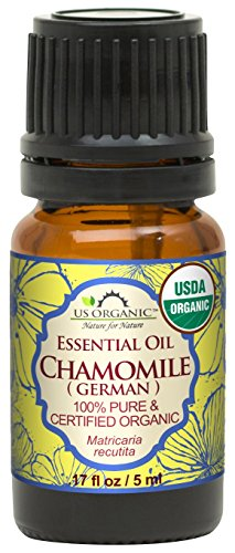US Organic 100% Pure Chamomile (German) Essential Oil - USDA Certified...