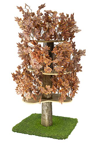 On2Pets Cat Trees with Leaves, Multi-Level Modern Cat Towers, Cat Activity Tree, Made in The United...