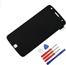 E-yiiviil LCD Screen Compatible with Moto Z Play Droid XT1635-01/02 LCD Touch Screen Display Assembly Digitizer + Tools (Black)