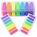 ★2800pcs Marcadores Adhesivos Páginas Notas Autoadhesivas Indices Pegajosas Colores Etiquetas de Escribir para Marcar Hojas Informes Libros 42 x 12 mm