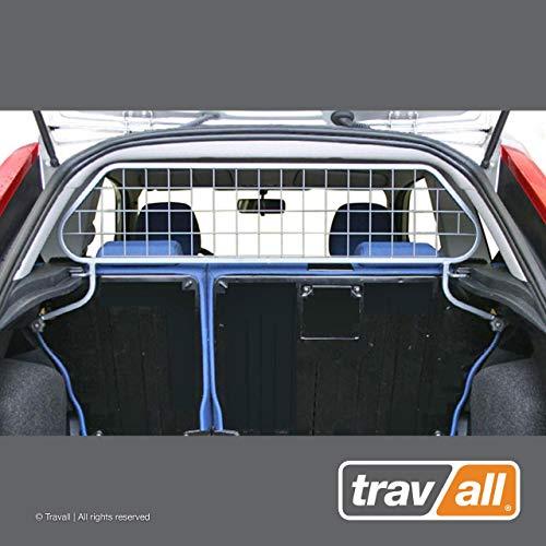 Travall Guard Hundegitter Kompatibel Mit Ford Fiesta 3 Türer Fließheck (2002-2008) ST (2005-2008) TDG1067 - Maßgeschneidertes Trenngitter in Original Qualität