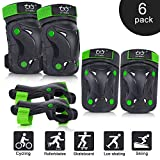 TXJ Sports Knee Pads Protective Gear for Kids 8-14 paw Patrol Knee and Elbow Pads Toddlers with Flexible Elbow...