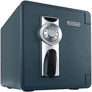 FIRST ALERT 2087F-BD .94 Cu ft Waterproof Fire Safe with Combination Lock...