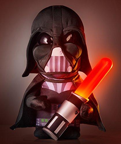 2 in 1 XL Darth Vader Nachtlicht + Plüschfigur Star Wars Kinderlampe The Clone Wars R2D2 Nachttischlampe