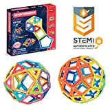 Magformers Basic Set (62-Pieces)  Magnetic Building Blocks, Educational Magnetic Tiles, Magneti…