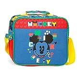 Disney Mickey Shape Shifter Neceser Adaptable con Bandolera Multicolor 23x20x9 cms...