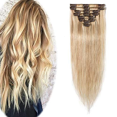 Hairro Soft Silky Straight Hair in Natural Blonde