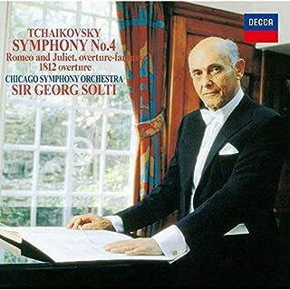 チャイコフスキー:交響曲第4番、幻想序曲「ロメオとジュリエット」、序曲「1812年」