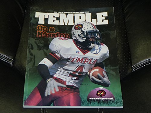 2001 TEMPLE COLLEGE FOOTBALL MEDIA GUIDE EX-MINT BOX 20