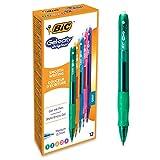 BIC Gel-ocity Original - Caja de 12 unidades, bolígrafos de Gel, colores surtidos