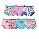 Disney Pantalones de entrenamiento de princesa para niñas, Printraining7pk, 2 Años