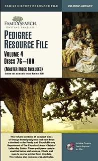 Pedigree Resource File, Vol. 4, Discs 76-100