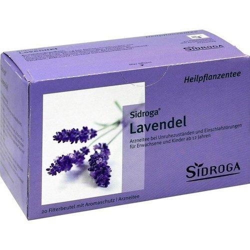 Sidroga Lavendel Tee Filterbeutel, 20 St.