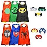 Easony Spielzeug 3 4 5 6-10 Jahren Junge,Superhelden Kostüm für Kinder Geschenk Junge 3 4 5 6-10...
