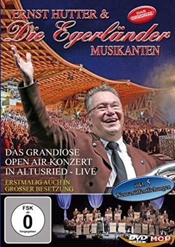 Ernst Hutter & die Egerländer Musikanten - Das Grandiose Open Air in Altusried - Live - erstmalig auch in großer Besetzung (inkl. 5 Neuveröffentlichungen)