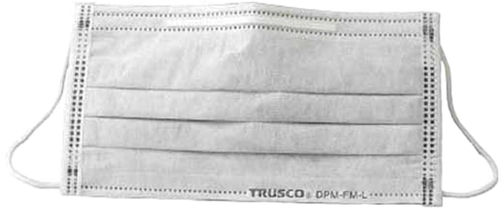 TRUSCO(トラスコ) フレッシュマスク 活性炭入り 50枚入り Mサイズ DPMFMM