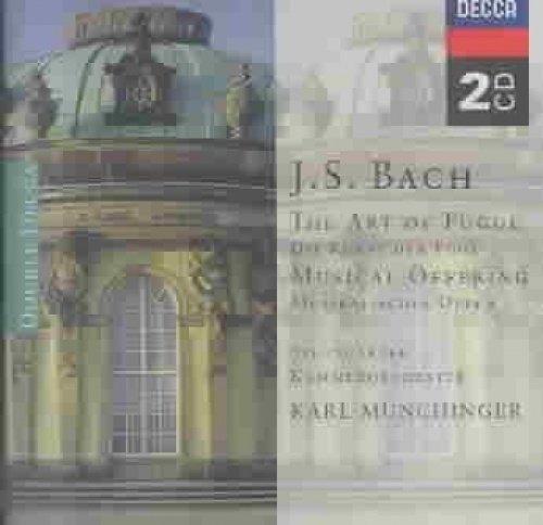 フーガの技法、音楽の捧げ物 ミュンヒンガー&シュトゥットガルト室内管(2CD)
