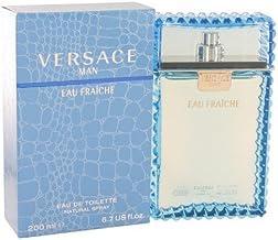 Versace Man by Versace - Eau Fraiche Eau De Toilette Spray (Blue) 6.7 oz