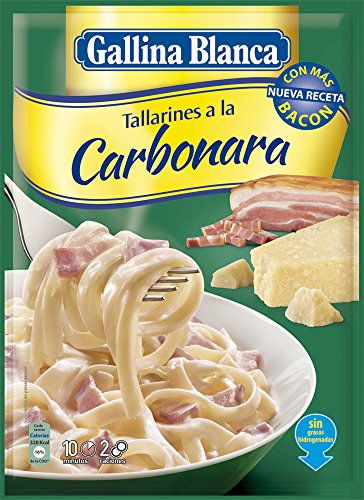 Gallina Blanca Tallarines A La Carbonara, 143g