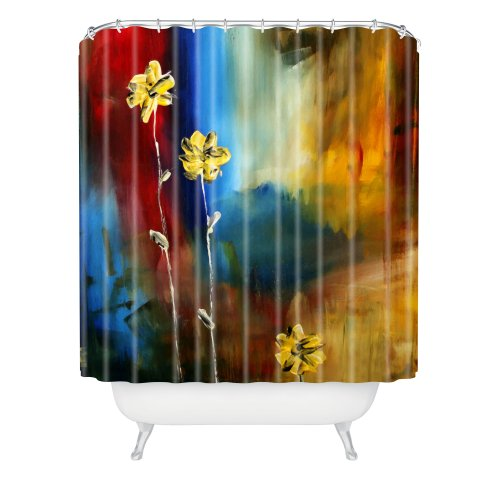 - DENY Designs Madart Soft Touch Shower Curtain, 69-Inch by 72-Inch