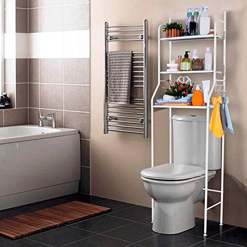 T-LoVendo 1 Estanteria sobre Inodoro WC Lavadora Ahorra