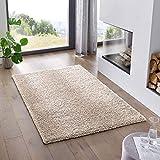 Teppich Wölkchen Shaggy-Teppich | Flauschiger Hochflor für Wohnzimmer, Kinderzimmer oder Flur...