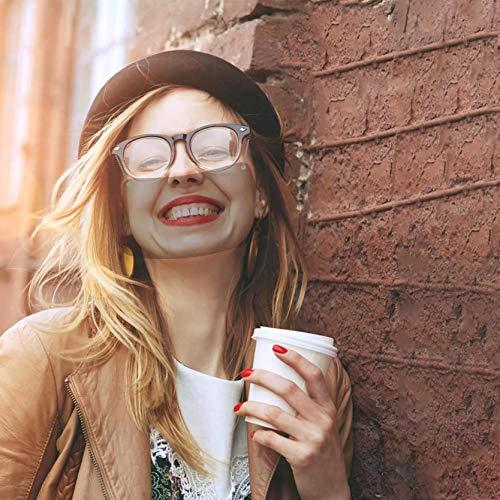 Mascarillas Transparente Protección Facial Anti-Salpicaduras Reutilizable Anti Niebla Mascarilla Vasos Colgantes Viseras...